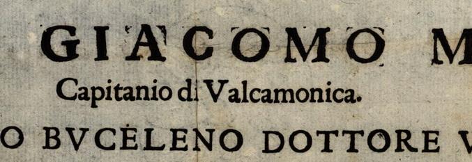 1620-1690. Ordini e mandati del capitano della Valle Camonica